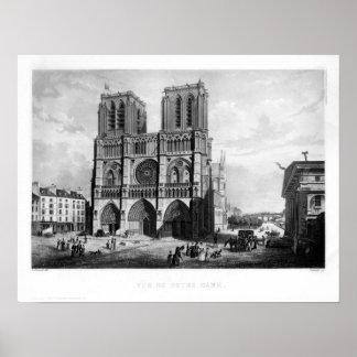 Paris c. 1835 - Notre Dame Posters