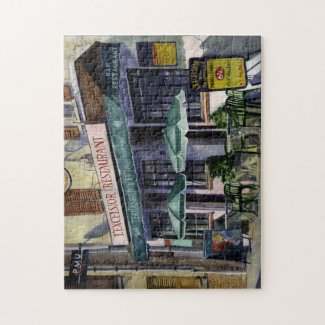 Paris Cafe Jigsaw Puzzle