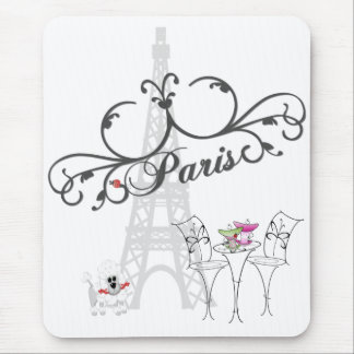 Paris Cafe Mousepad