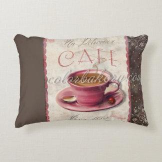 Paris Cafe Throw Pillow