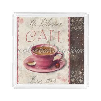 Paris Cafe Vanity Tray