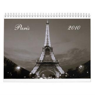 Paris Calendar 2010