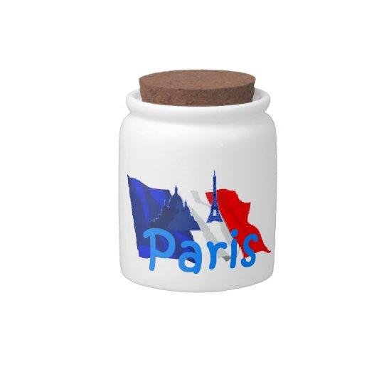 PARIS CANDY JAR