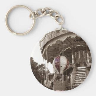 Paris Carousel Keychain
