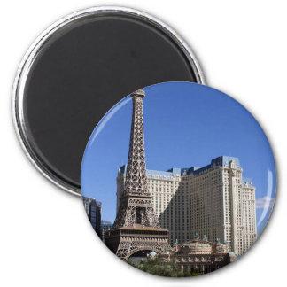 Paris Casino In Las Vegas Refrigerator Magnet