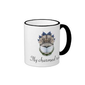 Paris Castle Ring Ringer Mug
