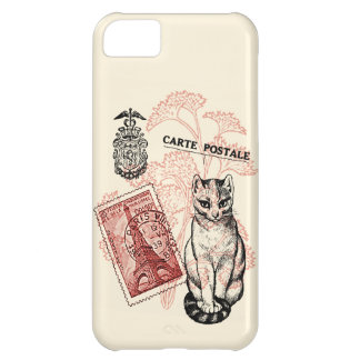 Paris Cat iPhone 5C Cover