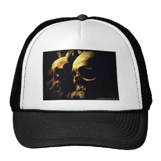 Paris Catacombs by April A Taylor Hats