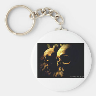 Paris Catacombs by April A Taylor Keychain