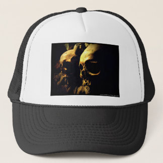 Paris Catacombs by April A Taylor Trucker Hat