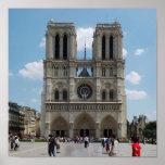 París - Cath�drale Notre-Dame - Poster