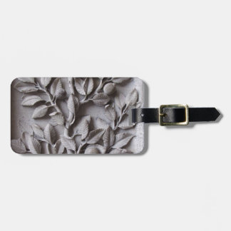 Paris - Cathedral of Notre Dame stone leaves Luggage Tag