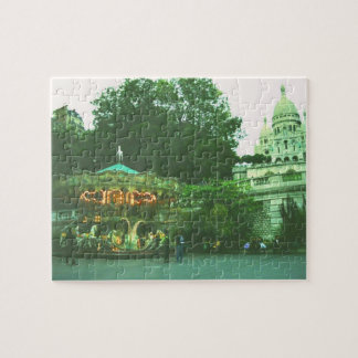 Paris Cathedral Puzzle with Merry-go-Round
