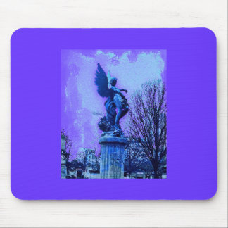 Paris Cemetary Angel Mouse Pad