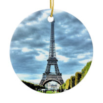 Paris Ceramic Ornament