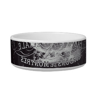 Paris Chalkboard scripts Tea party french country Bowl