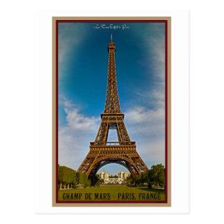 París - Champ de Mars Tarjetas Postales