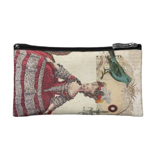 Paris Chandelier french queen  Marie Antoinette Makeup Bag