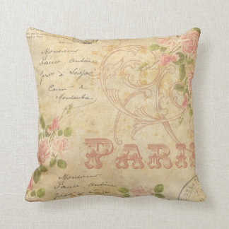 Paris Chic Throw Pillow