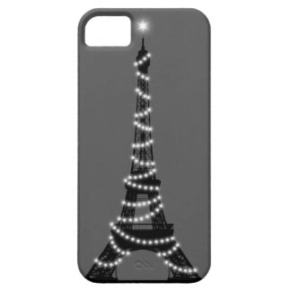 París chispea gris de Barely There del iPhone 5 iPhone 5 Funda