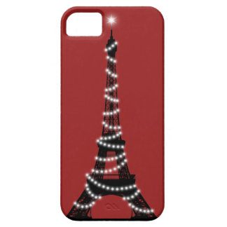 París chispea iPhone 5 Barely There iPhone 5 Case-Mate Protectores