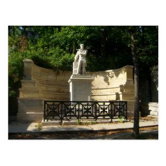Paris - cimeti�re of P�re-Lachaise - Postcard