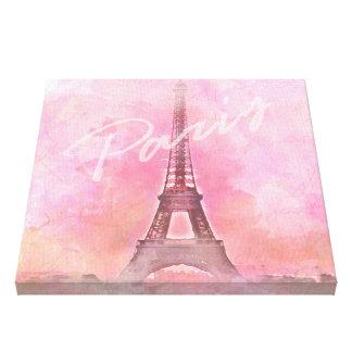 Paris city canvas impresión en lienzo