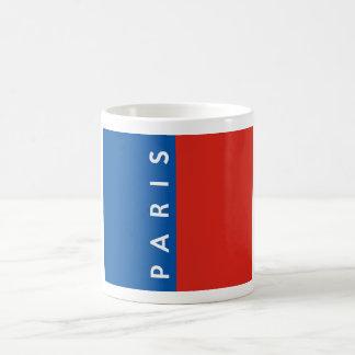 paris city flag france country text name coffee mug