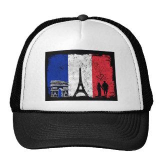 Paris city of love trucker hat