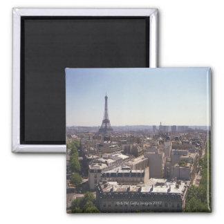 Paris cityscape,  Paris,  France Magnet