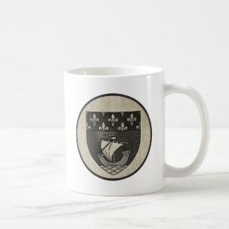 Paris Coat of Arms Classic White Coffee Mug