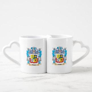 Paris Coat of Arms - Family Crest Couples' Coffee Mug Set