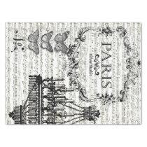 Paris Collage Decoupage Sheet