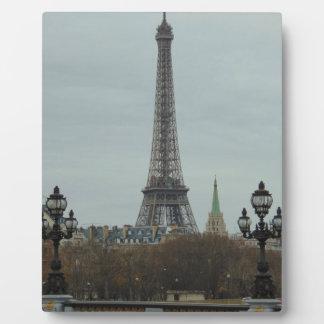 Paris Collection Plaques
