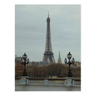 Paris Collection Postcard