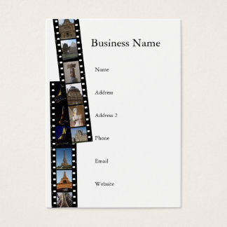 Paris Collections Chubby Business Card