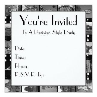 Paris Collections Invitation