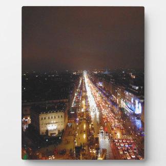 Paris Collections Photo Plaque