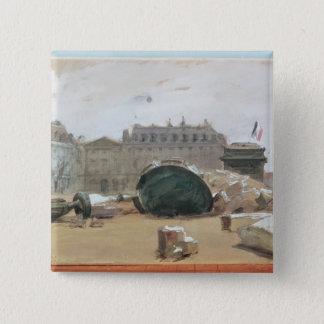 Paris Commune Pinback Button
