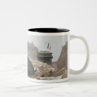 Paris Commune Two-Tone Coffee Mug
