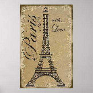 París, con amor póster