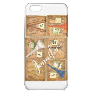 Paris Customizable Case For iPhone 5C