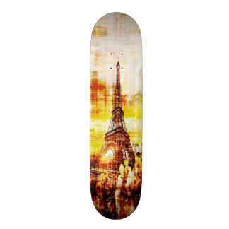 Paris Dawn Grunge Element Custom Pro Board