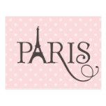 París de lujo postal