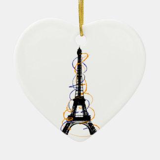 París Ornamento Para Arbol De Navidad