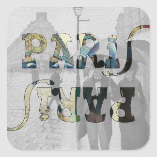París del pegatina de Caillebotte