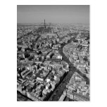 París desde arriba de III Tarjeta Postal