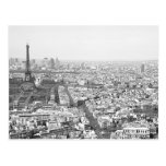 París desde arriba de VI Tarjeta Postal