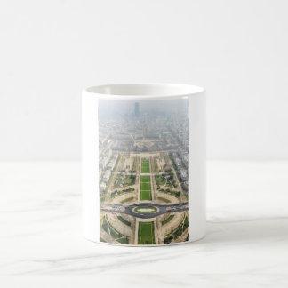 París desde arriba taza