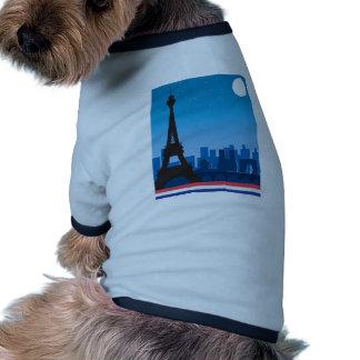 Paris Dog Tee Shirt